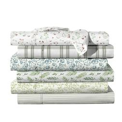100 percent cotton printed percale sheet sets