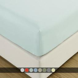 100% Viscose from Bamboo 600TC Fitted Sheets Silky & Super S