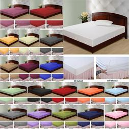 1000 Count 100 Percent Egyptian Cotton Solid Sheet Set All C