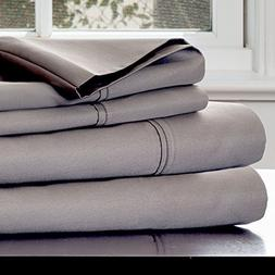 Lavish Home 1000 Thread Count Cotton Sheets Queen Platinum