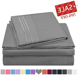 HOMEIDEAS Hotel Luxury Soft 1800 Series Premium Bed Sheets S