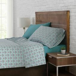 Brooklyn Loom 12-piece Queen Sheet Set in Aqua