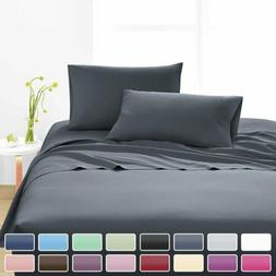 1800 Count Egyptian Comfort Extra Soft Bed Sheet Set Deep Po