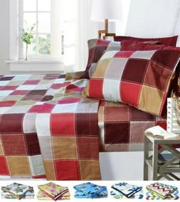 1800 Egyptian Collection 6 Piece Deep Pocket Printed Bed She