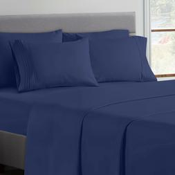 1800 series egyptian microfiber modern bed sheet