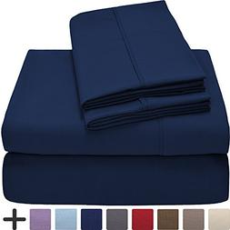 Premium 1800 Ultra-Soft Microfiber Collection Queen Sheet Se