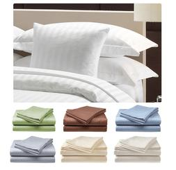 2 PACK:Deluxe Hotel , 400 Thread Count 100% Cotton Sateen Sh