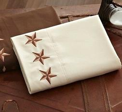 2400 texas star embroidered sheet