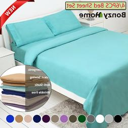 4 6 piece bed sheet set deep