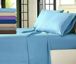 Egyptian Comfort 1800 Count Deep Pocket 4 Piece Bed Sheets S