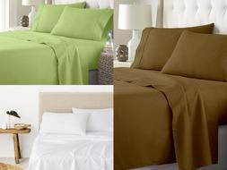 4 Piece Premium Sheet Set 100% Egyptian Cotton 400 Thread Co