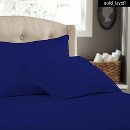 Egyptian Cotton 800-TC 100% Italian Finish 4 Piece Luxury Be