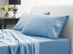 500 Thread Count Luxury Queen 1 Piece Fitted/Bottom Sheet St