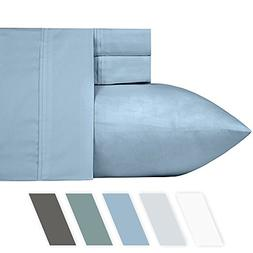 California Design Den #1 Bed Sheet Set 700-Thread-Count Poly