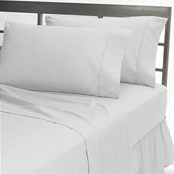 800 Thread Count American Linen Soft Feeling Room  Solid 4-P