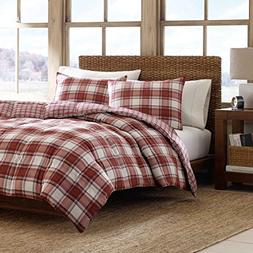 Eddie Bauer Edgewood Plaid Down Alternative Reversible Comfo