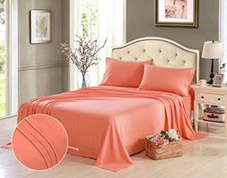 HONEYMOON HOME FASHIONS Microfiber Embroidered Queen Bed She