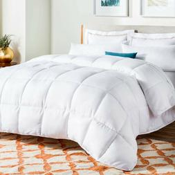 LINENSPA All-Season White Down Alternative Quilted Comforter