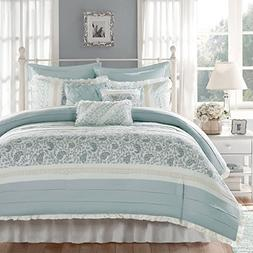 Madison Park Dawn Queen Size Bed Comforter Set Bed In A Bag