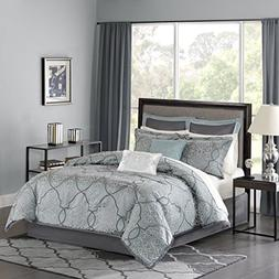 Madison Park LaVine Queen Size Bed Comforter Set Bed in A Ba