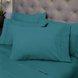 Sweet Home Collection Deep Pocket Bed 6 Piece Sheet Set Quee