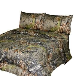 THE WOODS Premium Microfiber CAMO Sheet Set