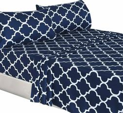 Utopia Bedding 4 Piece Bed Sheets Set