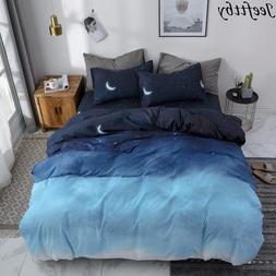 American Style Night Sky Bedding Set 3/4pcs Bed <font><b>Kin