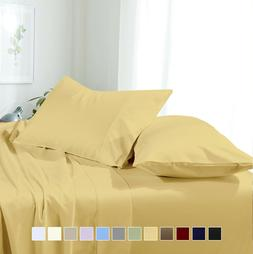Super Soft Comfortable Attached Waterbed Solid Sheet Set Mic