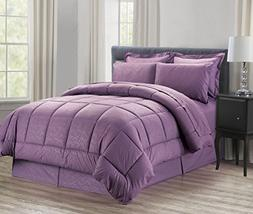 Sweet Home Collection 8 Piece Bed-In-A-Bag with Vine Comfort
