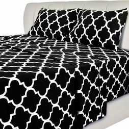 Bed Sheet Set  1 Flat Sheet 1 Fitted Sheet 2 Pillow Cases Ut