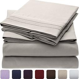 Mellanni Bed Sheet Set - HIGHEST QUALITY Brushed Microfiber