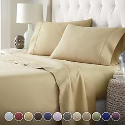 Hotel Luxury Bed Sheets Set-SALE TODAY ONLY! #1 Rated On Ama