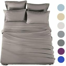 Sonoro Kate Bed Sheets Set Sheets Microfiber Super Soft 1800