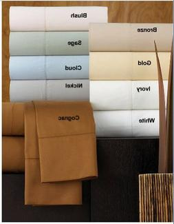 Hotel Collection Bedding, 600 Thread Count Queen Fitted Shee