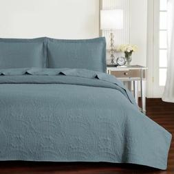 Mellanni Bedspread Coverlet Set - Oversized 3 Piece Quality