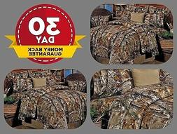 Camouflage Bedding Sheet Set All Purpose Realtree Camo Diffe