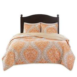 Comfort Spaces – Coco Mini Quilt Set - 3 Piece – Orange