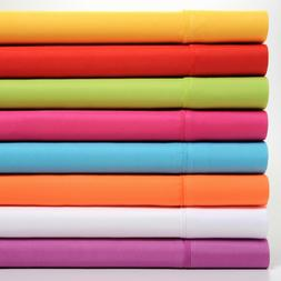 Premier Colorful Soft Super Bright 4 Piece Sheet Set - Deep