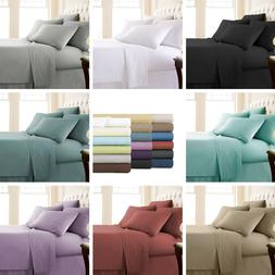 Comfortable 6-Piece Extra Deep Pocket Quality Bed Sheet Set
