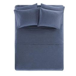 Comfort Spaces Cotton Jersey Knit Sheets Set - Ultra Soft Qu