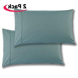 Mellanni 100% Cotton Pillowcase Set - 300 Thread Count Perca