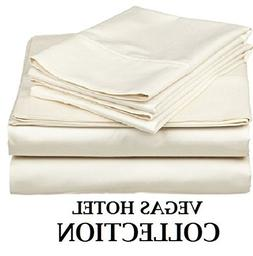 Great Best Look Sheet Set SOLID Style  4-Pieces 600 Thread C