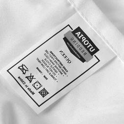 Utopia Bedding Deep Pocket Brushed Velvety Microfiber Fitted