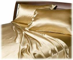 Royal Opulence Divatex Home Fashions Satin Queen Sheet Set,