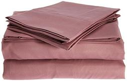 Spirit Linen, Inc Hotel 5th Ave EE-FULL-ROSE-4PC Full Rose E