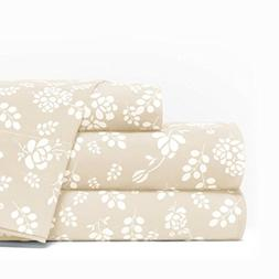 Egyptian Luxury 1600 Series Hotel Collection Basic Floral Pa