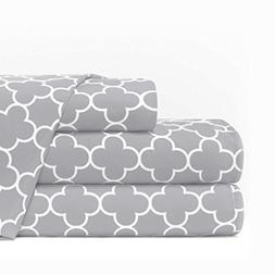 Egyptian Luxury 1600 Series Hotel Collection Clover Pattern