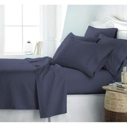 Satin Luxury Hotel Collection Bed Sheet Set - 15'' Deep Pock
