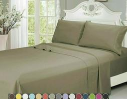 egyptian 2000 series 4 piece bed sheet